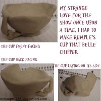 Rumbelle Chipped Cup by misaapril288