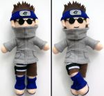 Shino Aburame Naruto Plush doll Commission by aleena
