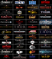 MARVEL Logos - Fan Future by SuperDude001