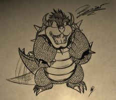Happy Bowser by chibichick22