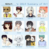 summary of art 2014 by cariboy