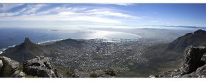 Cape Town Panorama by MrStickman
