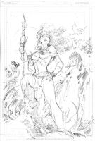 Savage Land Rogue WIP: Shadows by jimlee00