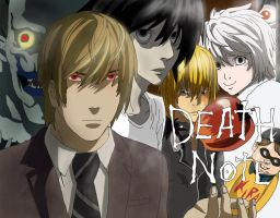Death Note Custom Poster Digital by Piegoose