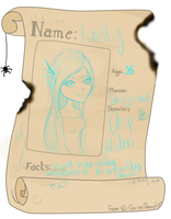 Ashelly Check-in form by BellatrixEvlish