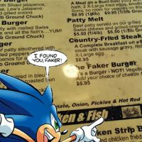 I Found You, Faker Burger! by McShmoodle