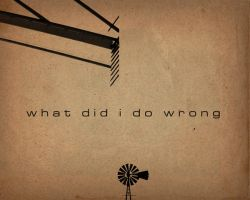 What Did I Do Wrong by itsyouforme