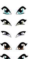 Winx Eyes Front View by WinxFandom