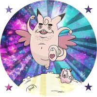 Clefable by NapalmDraws