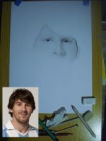 Lionel Messi WIP by Polonx