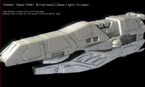 Taii Light Cruiser HighDet WIP by Enterprise-E