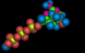 Raytraced ATP molecule by mcsoftware