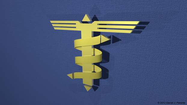 Medical Emblem of an Engineer 3D by SocratesJedi