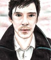 benedict cumberbatch by ghostblaster