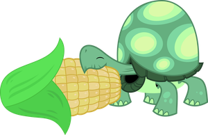 Tank loves corn by porygon2z
