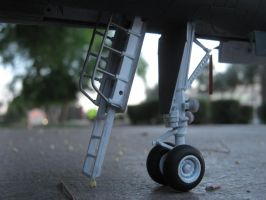 1/48 Scale B-1B Lancer (Nose gear) by Coffeebean2