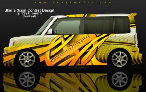 ReyJKing1 Scion Skin Sub by reyjdesigns