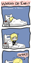 daily life-waking up by mad-foxy