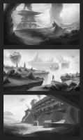 enironment sketches 2 by SebastianWagner