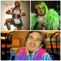Fabulous youtubers by Alice1Tennant