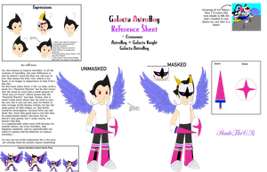 Galacta AstroBoy Reference Sheet by shadethecb