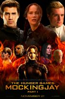 The Hunger Games: Mockingjay Part One | Poster by RevolutionMockingjay