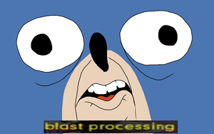 Blast Processing by IndieChrome