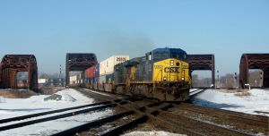 CSX 450 at BI Junction by JamesT4