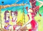 Wife of Minkhaung and Princesses of Prome by sw-eden
