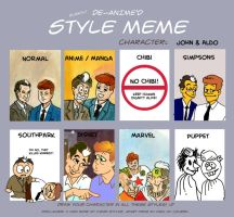 Style Meme JFK and Moro by DianaKennedy