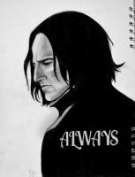 Severus Snape by Betelgeuse7