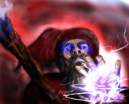 The Spell Caster by Mikejl