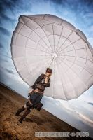 Steampunk and parachute by S-T-A-R-gazer