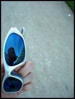 Blue glasses by nyc0