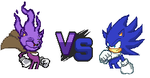 Cloak the Ghosthog VS Keo The Hedgehog by SolBolt