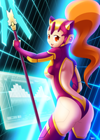 Magic Knight: Dataknight by Blazbaros