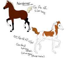 foal Designs for 3150 by DeziSaurus