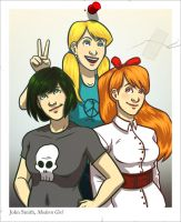 PPG - Modern Girls by Original-Blue
