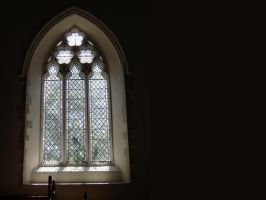 church window wallpaper by thebluemaiden