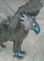 StormEdge Gryphon II - OOAK Posable doll by Ganjamira