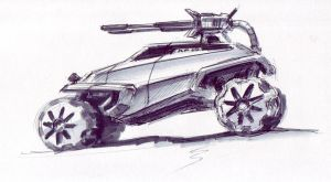 Combat Buggy 1 by kryoth
