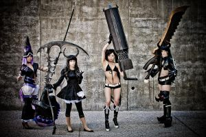 Fanime 2012 - Black Rock Shooter by MikeRollerson