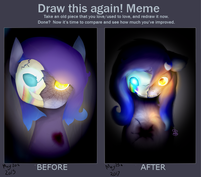 Draw This Again- A Mask to Hide Behind by FrozenTwoDeath