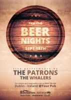 Beer Nights - Flyer by VectorMediaGR