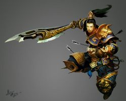 Golden armour by crow-god