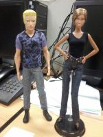 Ryan and Christie O Neil from Mattel by seawaterwitch