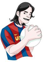 messi by paragraphworld