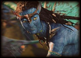 Neytiri Smiles 1 by RockerMissTammy