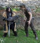 Thorin and Beorn by AlexOakenshield