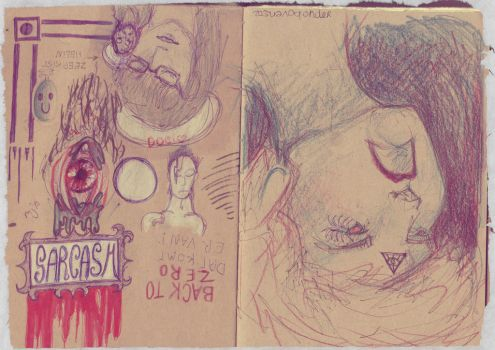 Helin and Doo pubdoodles by DooAddams